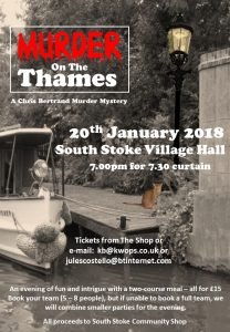 Murder In The Village Hall @ South Stoke Village Hall